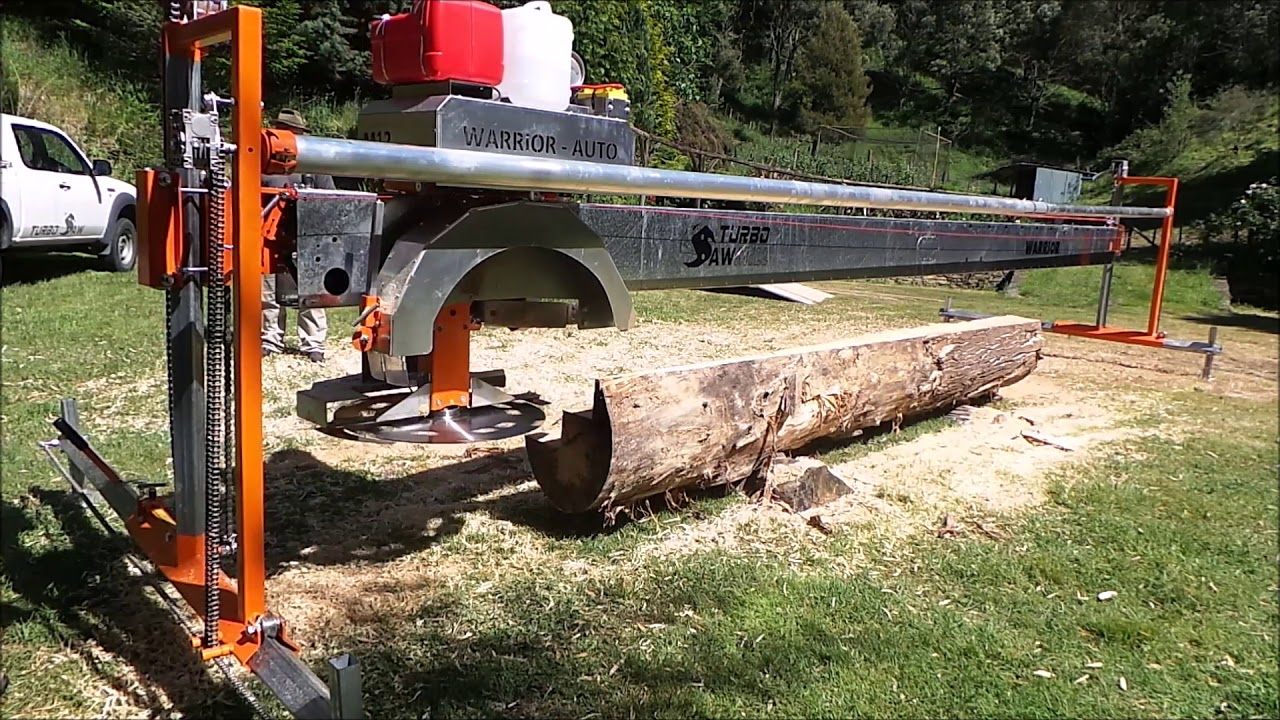 "12"" swingblade sawmill! Full video"