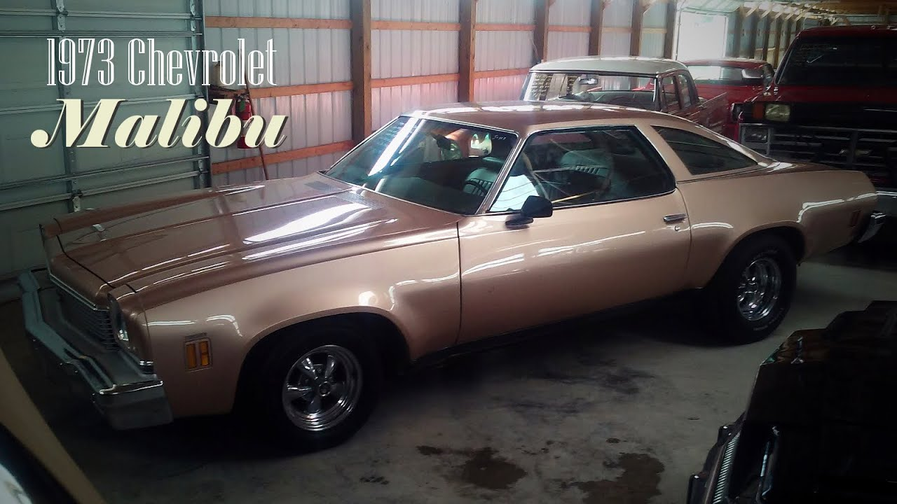 1973 Chevy Malibu And Story About Mine Youtube