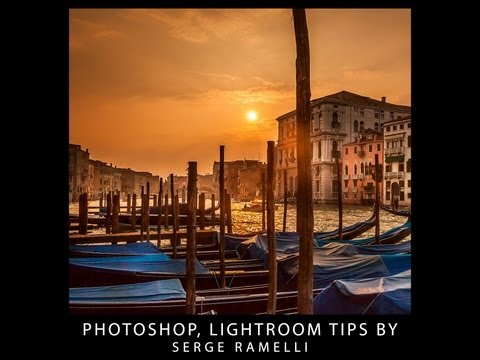 Welcome to Serge Ramelli Channel Free Lightroom and Photoshop tutorials