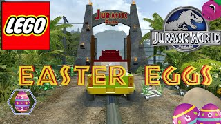 Lego: Jurassic World - Easter Eggs