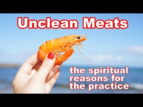 Unclean Meat: The Biblical Reasons For Making A Distinction