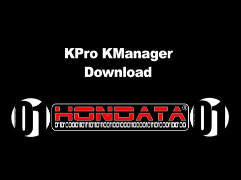 How to Download K-Pro KManager