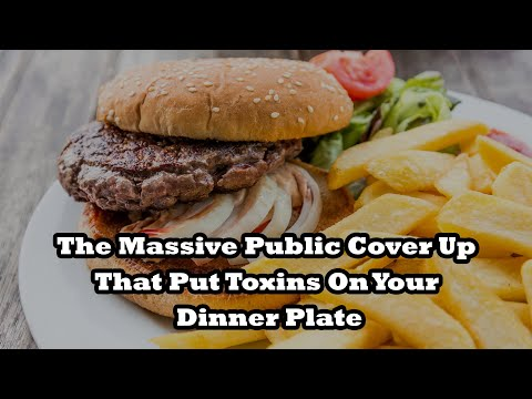 The Massive Public Cover Up That Put Toxins On Your Dinner Plate - By Author Mitchel Cohen