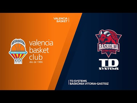 Valencia Basket - TD Systems Baskonia Vitoria-Gasteiz Highlights | EuroLeague, RS Round 34