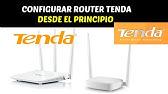 Configuracion Router Tenda 3g - Bloqueo y contraseña acceso WIFI