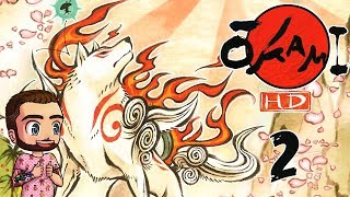 OKAMI HD [2] - KAMIKI VILLAGE! (PC Gameplay)