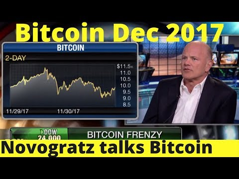 Mike Novogratz Bitcoin News - December 2017 | Price Prediction 2018