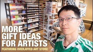 More Gift Ideas For Artists  Overjoyed Art Store  + Giveaway