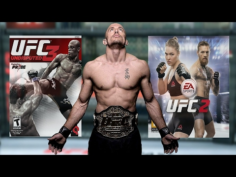 Fighter Uniqueness - UFC Undisputed 3 vs EA Sports UFC 2 - Georges St Pierre