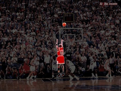 1998 NBA Finals game 6   Michael Jordan 45 pts vs Karl Malone 31 pts   All field goal attempts
