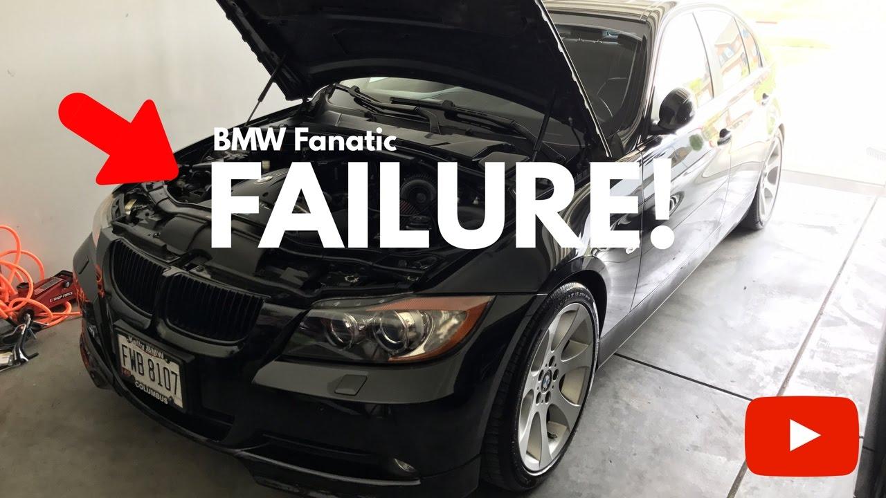 Bmw Water Pump Failure Youtube