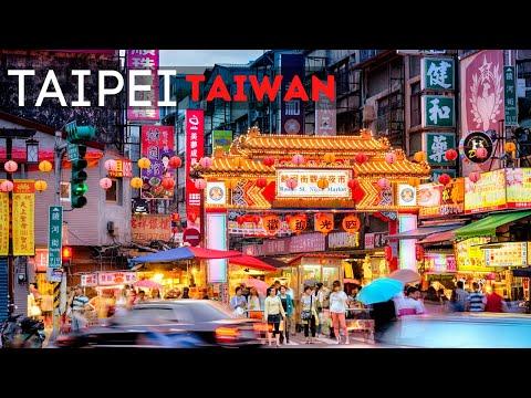 Taiwan Taipei Tour Ultra HD - Taiwan Travel 2020 Exploring Taipei City - Taipei Taiwan City Tour
