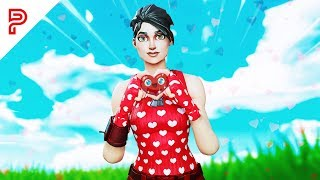 i pretended to be a GIRL on fortnite... *TOXIC*