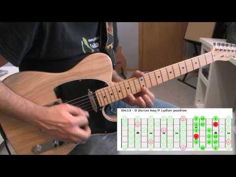 Practicing Over A Modulation Backing Track