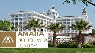 Турция, Кемер. Отель Amara Dolce Vita 5*(Amara Dolce Vita - это лакшери отель в Кемере (Турция). Этот 4-этажный отель был открыт в 2006 и включает в себя 379 номеро..., 2015-09-23T07:43:05.000Z)