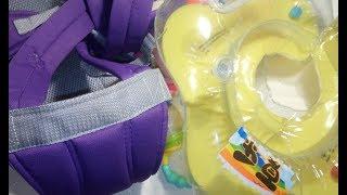 Детские товары с AliExpress спустя год, слинг, круг для грудничков, игрушки, рюкзак