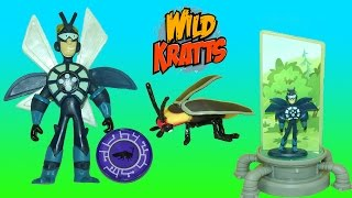 Wild Kratts Martin Deluxe Figure Firefly Creature Power Suit Miniaturizer