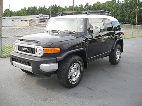 2008 toyota fj cruiser start up exhaust and in depth. Black Bedroom Furniture Sets. Home Design Ideas