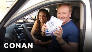 Download Conan Helps His Assistant Buy A New Car  - CONAN on TBS Mp3 and Videos
