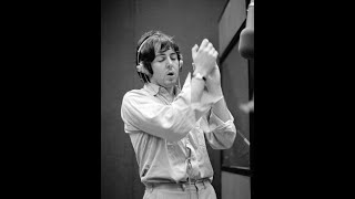 the Beatles in the recording studio (Oct. 4th 1968) martha my dear