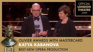 Best New Opera Production - Olivier Awards 2019 with Mastercard