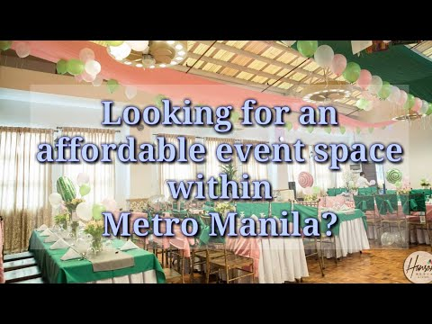 Affordable Venues & Event Spaces | First Birthday Cost Ideas