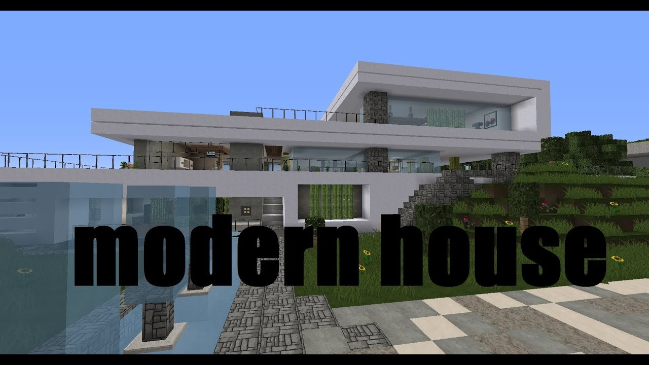 Minecraft Showcase - Modern House : Crystal Cliff - YouTube on minecraft modern house render, minecraft cliff side house, minecraft modern lake house, minecraft modern mansion house, minecraft modern house on a cliff,