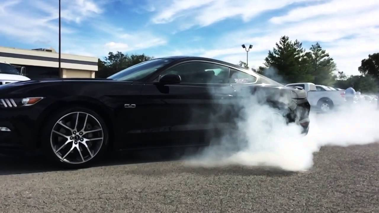 Car Fire Wallpaper 2015 Mustang Gt Burnout By Sct Performance Youtube