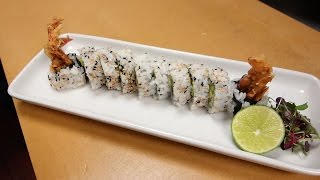 Spider Roll - How To Make Sushi Series