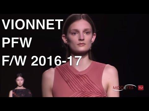 VIONNET | WOMAN FASHION SHOW FALL WINTER 2016 - 2017