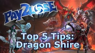 Heroes of the Storm: Top 5 Tips for Dragon Shire