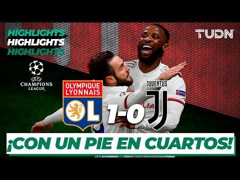 Highlights | Lyon 1 – 0 Juventus | Uefa Champions League – Octavos Vuelta | Tudn