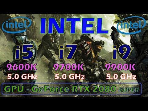 Intel I5 9600K Vs I7 9700K Vs I9 9900K | 5.0 GHz |
