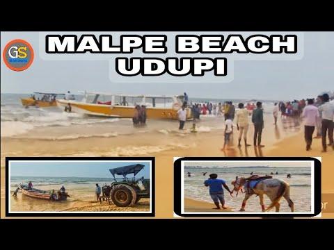 Malpe Beach Udupi    Malpe Beach    Mangalore Beach    GirishShanku