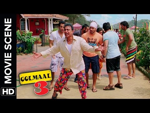 Bum Chiki Chiki Bum | Golmaal 3 | Comedy Movie Scene
