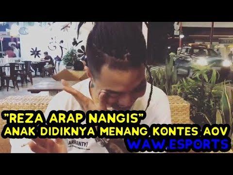 REZA ARAP NANGIS - TERHARU KARENA WAW ESPORTS MENANG | FINAL AOV