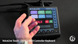 VoiceLive Touch | Using a MIDI Controlle...