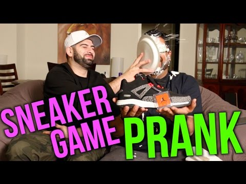 Guess The Sneaker Prank!! (Knock Off Jordans)