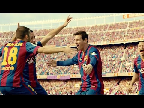 Watch Ozil & Messi in action for Gatorade!