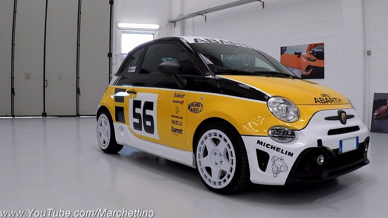 This Is The Gr 4 Rally Inspired Abarth 500 Test Drive Sub Eng