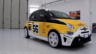 This is the Gr.4 Rally Inspired Abarth 500 [Test Drive] - Sub ENG