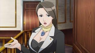 capcom Phoenix Wright Ace Attorney nintendo ds стрим АНИМЕ visual novel прохождение часть 8