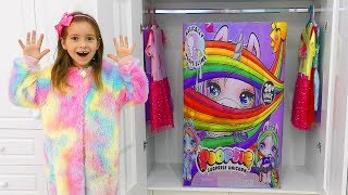 Giant Gift in the closet, Toys and DOLLS Giant Poopsie Slime Surprise