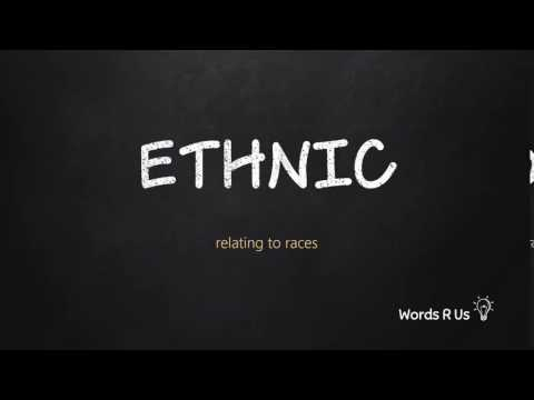 How to Pronounce ETHNIC in American English