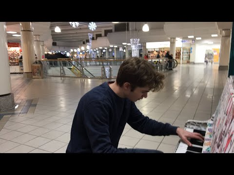 Playing BITCH LASAGNA in a mall until someone asks me to stop in order to save PewDiePie