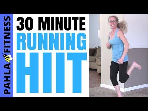 30 Minute INDOOR RUNNING HIIT | Effective Progressive CARDIO Workout (Fab 14s)