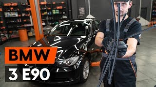Hoe Wisserbladen vervangen BMW 3 (E90) - video gratis online