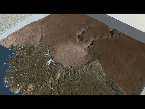 Massive Crater Discovered Under Greenland Ice – HD