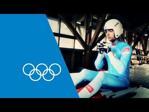 Shiva Keshavan's Guide To Olympic Luge   Faster Higher Stronger