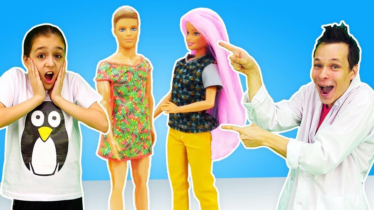Что с Барби и Кеном? - Исправляем ошибки! – Видео с ...